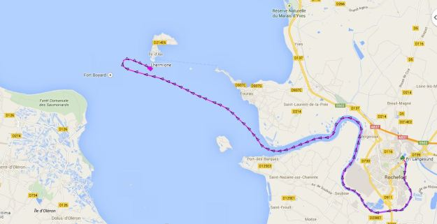 De Rochefort à l'Ile d'Aix